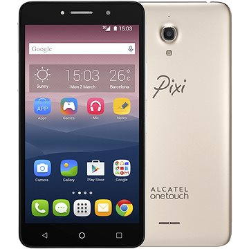 ALCATEL ONETOUCH PIXI 4 (6) Metal Gold (8050D-2CALE11)