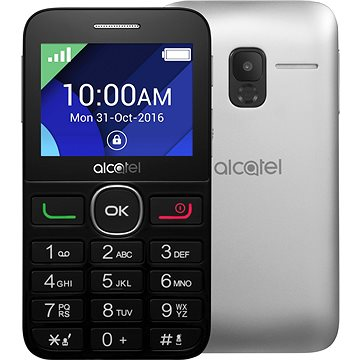 Alcatel 2008G Black/Metal Silver (2008G-3BALCZ1-1)