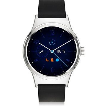 Chytré hodinky TCL MOVETIME Smartwatch TPU Silver/Black (MT10G-2ALCE11)