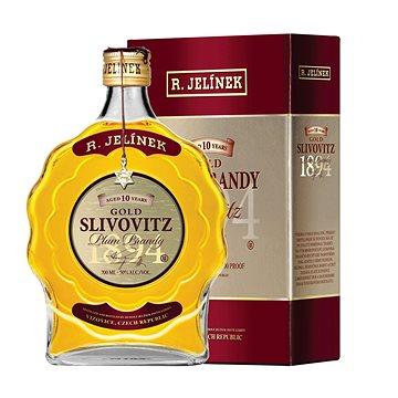 Rudolf Jelínek Slivovice Kosher Gold 700 Ml 50% (8595198801000)