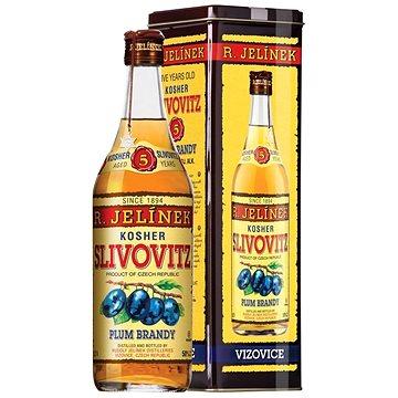 Slivovice Kosher Gold 5y 0,7l 50% Plech (8595198800751)