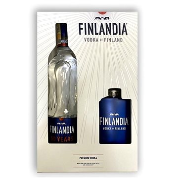 Vodka Finlandia 0,7l 40% GB + Placatka (8595682604827)