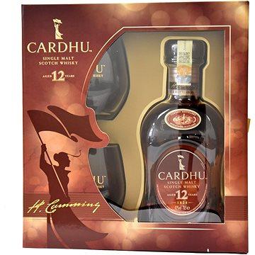 Cardhu 12y 0,7l 40% + 2x sklo GB (5000267171401)
