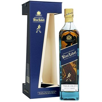 Johnnie Walker Blue Label Edition Year of the Pig 1l 40% L.E. (5000267171289)