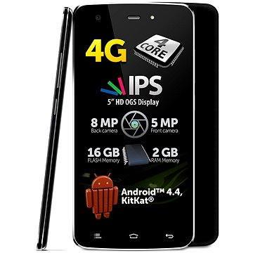 Allview V1 VIPER S4G Black Dual SIM (TELAVV1VIPS4BK) + ZDARMA Album MP3 Zimní playlist 2017 Digitální předplatné Týden - roční