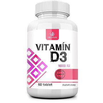 Allnature Vitamín D3 60 tbl. (3941060)