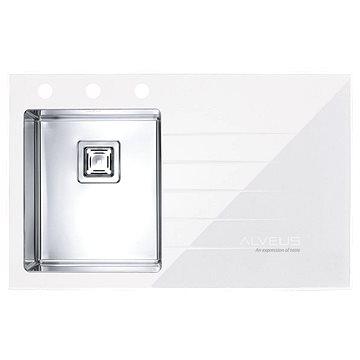ALVEUS Crystalix 10 bílá - levý (1099634)