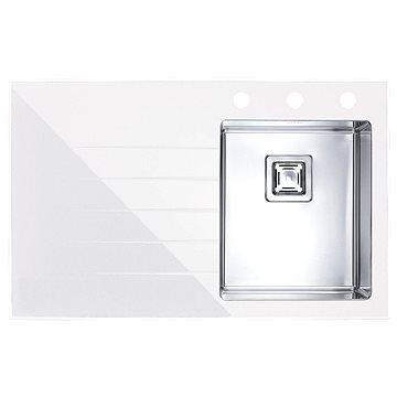 Alveus Crystalix 10 bílá - pravý (1099632)