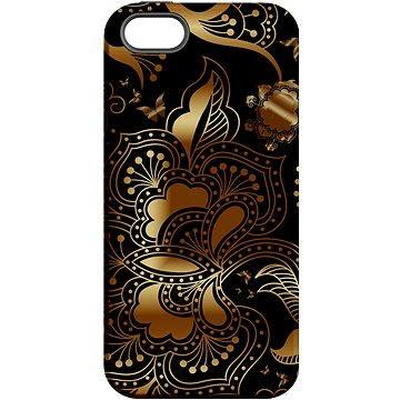 """MojePouzdro """"Zlato-černá"""" + ochranné sklo pro iPhone 6/6S (APP-IPH6CRE0028CAT-D)"""