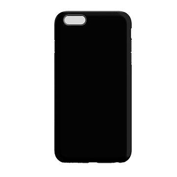 MojePouzdro Černo-černá + ochranné sklo pro iPhone 6/6S (APP-IPH6SLVS0020CAT-D)