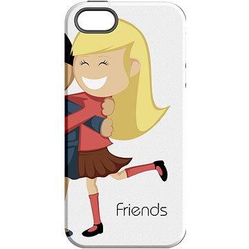MojePouzdro Nejlepší přítel 2 + ochranné sklo pro iPhone 7 (APP-IPH7SLVS0019CAT-D)