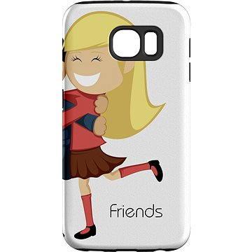 MojePouzdro Nejlepší přítel 2 + ochranné sklo pro Samsung Galaxy S6 (SAM-G920SLVS0019CAT-D)