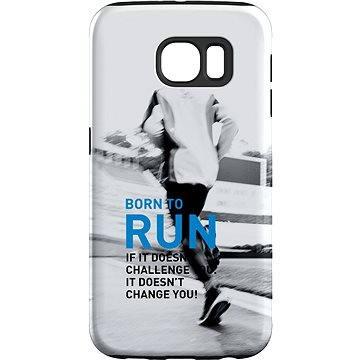 MojePouzdro Zrozen k běhu + ochranné sklo pro Samsung Galaxy S7 (SAM-G930JUR0005CAT-D)
