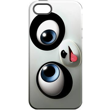 MojePouzdro Vykulený + ochranné sklo pro iPhone 5s/SE (APP-IPH5CRA0015CAT-D)