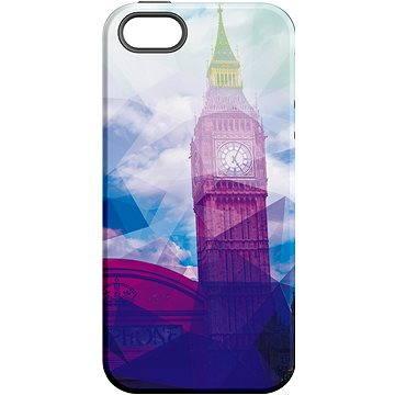 MojePouzdro Big Ben + ochranné sklo pro iPhone 5s/SE (APP-IPH5SLVS0001CAT-D)