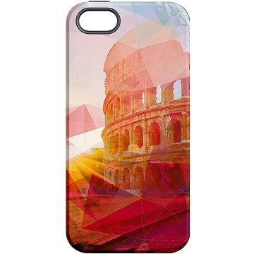 MojePouzdro Colloseum + ochranné sklo pro iPhone 5s/SE (APP-IPH5SLVS0002CAT-D)