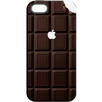 """MojePouzdro """"Čokoláda"""" + ochranné sklo pro iPhone 5s/SE (APP-IPH5SLVS0004CAT-D)"""