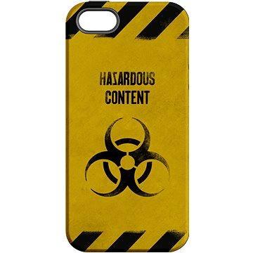 MojePouzdro Na vlastní riziko + ochranné sklo pro iPhone 5s/SE (APP-IPH5SLVS0009CAT-D)