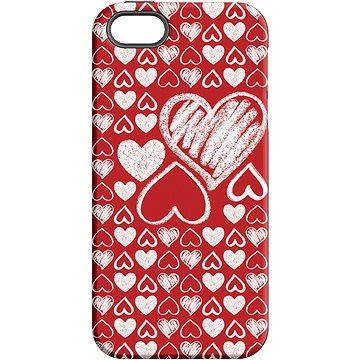 "MojePouzdro ""Láska"" + ochranné sklo pro iPhone 5s/SE (APP-IPH5SLVS0022CAT-D)"