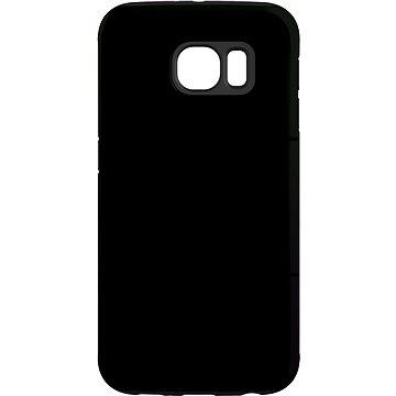 """MojePouzdro """"Černo-černá"""" + ochranná fólie pro Samsung Galaxy S6 Edge (SAM-G925SLVS0020CAT-D)"""