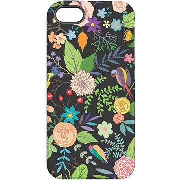 MojePouzdro Noční zahrada + ochranné sklo pro iPhone 5s/SE (APP-IPH5SLVS0026CAT-D)