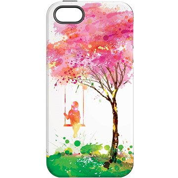 MojePouzdro Strom štěstí + ochranné sklo pro iPhone 5s/SE (APP-IPH5SLVS0028CAT-D)