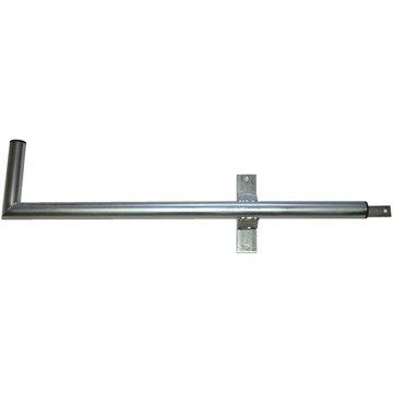 Tříbodový pozinkovaný držák, pro lodžie, pravý, 900/200/400, max 60cm od zdi (DZBP)