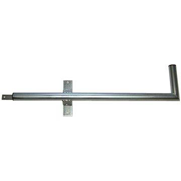 Tříbodový pozinkovaný držák, pro lodžie, levý, 900/200/400, max 60cm od zdi (DZBL)