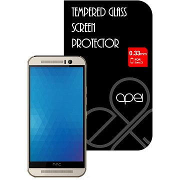 Apei Slim Round Glass Protector pro HTC One M9 (12135)