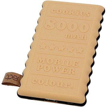 Apei Cookie 8000mAh béžový (14126)