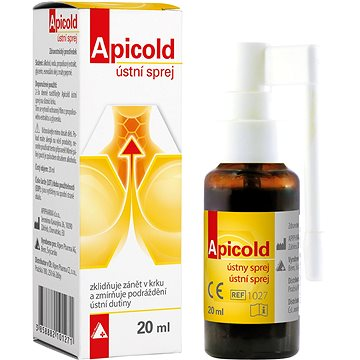 Apicold ústní sprej 20 ml (3742112)