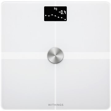 Nokia Body+ Full Body Composition WiFi Scale - White (WBS05-White-All-Inter)