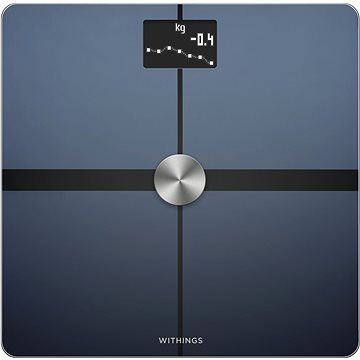 Nokia Body+ Full Body Composition WiFi Scale - Black (WBS05-Black-All-Inter)