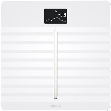 Nokia Body Cardio Full Body Composition WiFi Scale - White (WBS04-White-All-Inter)