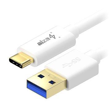 AlzaPower Core USB-C 3.2 Gen 1, 0.5m White (APW-CBTC0040W)