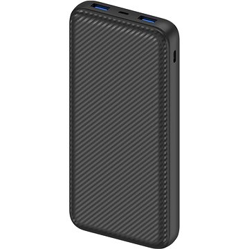 AlzaPower Carbon 20000mAh Fast Charge + PD3.0 Black (APW-PBC20CFB)