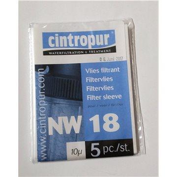Cintropur náhradní filtrační vložky do MFC18 - porozita 10 mcr, 5 ks (VMFC1810)