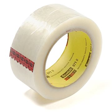 Scotch Box Sealing Tape 371 Transparent 50 mm x 66 m (F6378/trans)