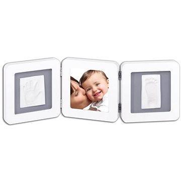Baby art Fotorámeček Double - bílý/šedý (3220660148875)