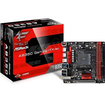 ASROCK Fatal1ty AB350 Gaming-ITX/ac (AB350 GAMING-ITX/AC)