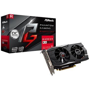 ASROCK Radeon RX 580 Phantom Gaming D Radeon 8G OC (PG D RADEON RX580 8G OC)
