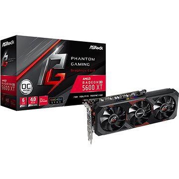 ASROCK Radeon RX 5600 XT Phantom Gaming D3 6G OC (RX5600XT PGD3 6GO)