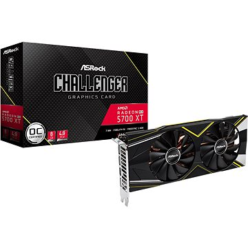 ASROCK Radeon RX 5700XT Challenger D 8G OC (RX5700XT CLD 8GO)