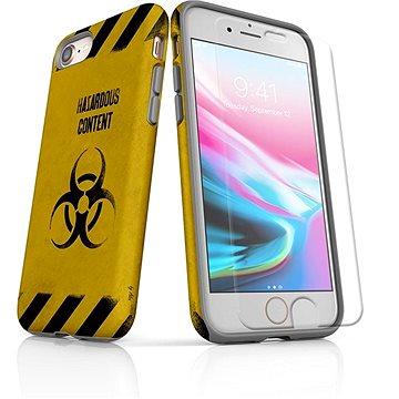 MojePouzdro Tough pro iPhone 8 SLVS0009 Na vlastní riziko (APP-IPH8SLVS0009CAT-D)