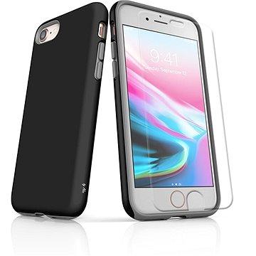 MojePouzdro Tough pro iPhone 8 SLVS0020 Černo-černá (APP-IPH8SLVS0020CAT-D)