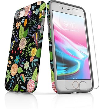 MojePouzdro Tough pro iPhone 8 SLVS0026 Noční zahrada (APP-IPH8SLVS0026CAT-D)