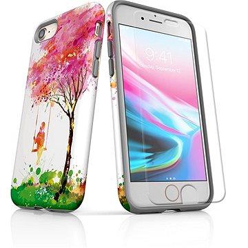 MojePouzdro Tough pro iPhone 8 SLVS0028 Strom štěstí (APP-IPH8SLVS0028CAT-D)