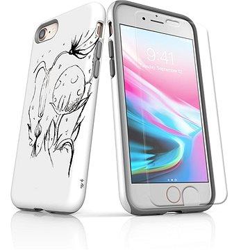 MojePouzdro Tough pro iPhone 8 SLVS0029 Jak život roste (APP-IPH8SLVS0029CAT-D)