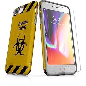 MojePouzdro Tough pro iPhone 8 Plus SLVS0009 Na vlastní riziko (APP-IPH8PSLVS0009CAT-D)