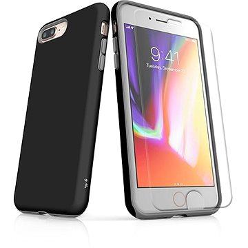 MojePouzdro Tough pro iPhone 8 Plus SLVS0020 Černo-černá (APP-IPH8PSLVS0020CAT-D)